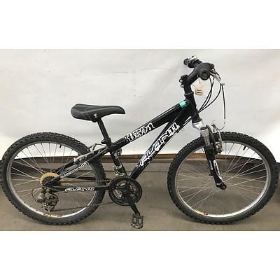Avanti Black Thunder 24 Kids Bike