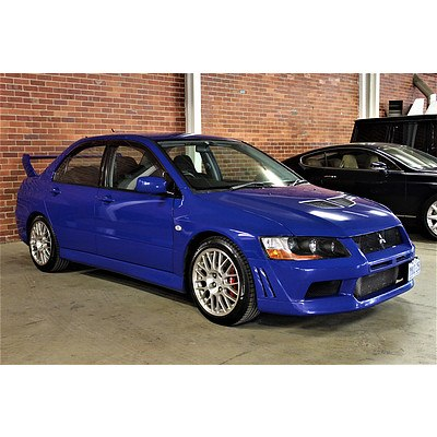 3/2001 Mitsubishi Lancer Evolution VII 4d Sedan Blue 2.0L