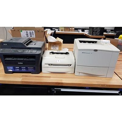 Lot of 9 Printers
