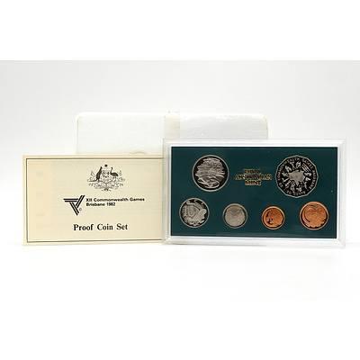 1982 XII Commonwealth Games Brisbane 1982 Royal Australian Mint Proof Coin Set