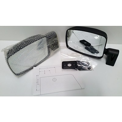 Pair Of Can-Am Mirrors for Cab Enclosure -Brand New- RRP- $153