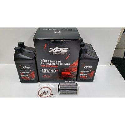 Can-Am New OEM Spyder XPS Engine Oil Change Kit Rotax 1330 Ace  -Brand New- RRP- $144.84