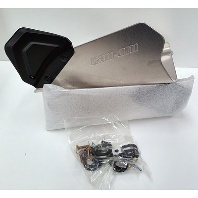 Pair Of Can-am A-Arm Protectors -Brand New- RRP- $202.43
