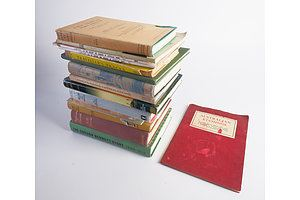 Australian Etchings, 1928 Softcover, First Years at Port Phillip by R D Boys, 1959 and More