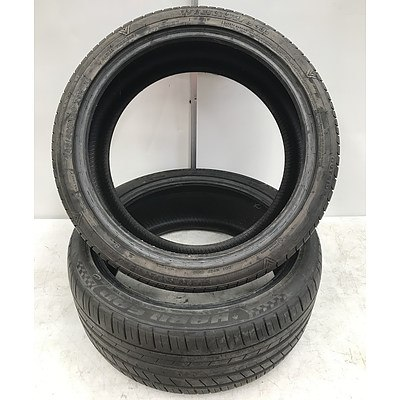 Winrun R330 245/40/R20 Tyres -Lot of Two
