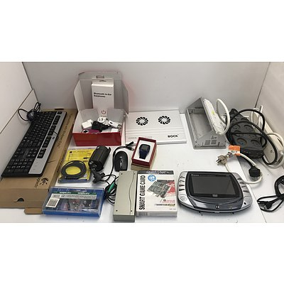 Large Lot Of Assorted IT and Electrical Accessories