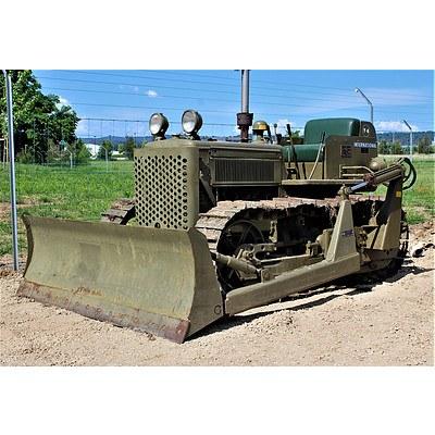 1941 International T6 Bulldozer / Crawler Tractor 1 Ton M1 4.1L U.S Army