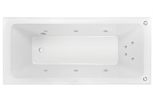 1675mm Decina Cortez 10 Jet Spa Bath with Pump- Brand New - RRP $2200.00