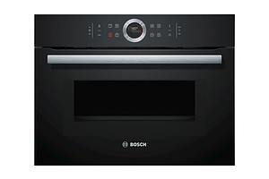 Bosch CMG633BB1A Bosch Series 8 Black Glass Built-in Compact Microwave Oven - Brand New - RRP $2699.00