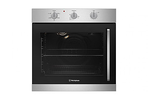 Westinghouse 600mm Stainless Steel Multifunction Oven with Left Side Opening Door - Brand New - RRP $1249.00