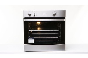 Westinghouse 60cm Stainless Steel Electric Convection Wall Oven - Brand New - RRP $1100.00