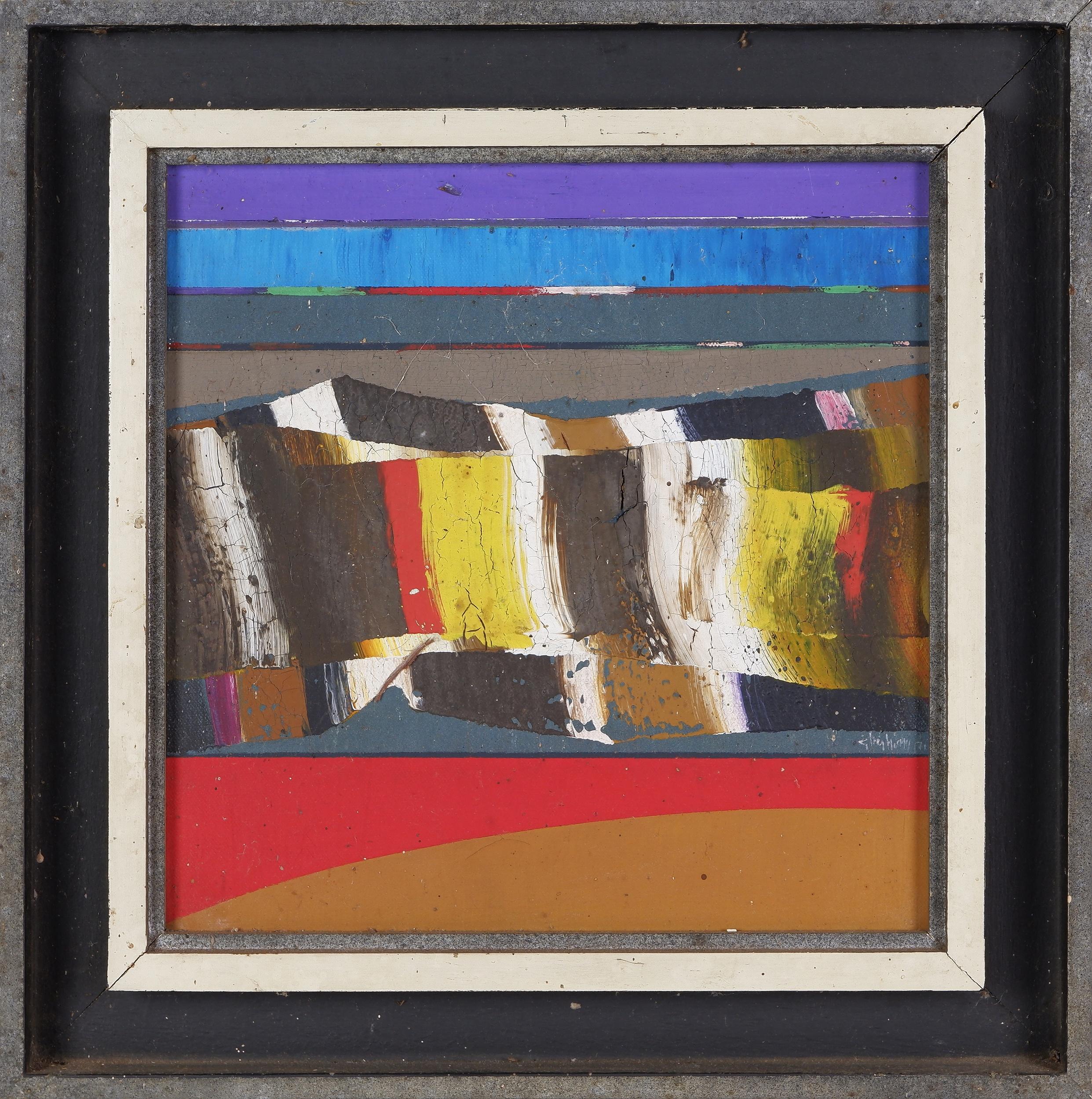 'Thomas Gleghorn (born 1925), Arkaroola Wall 1971, Oil on Canvas'