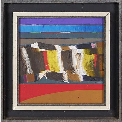 Thomas Gleghorn (born 1925), Arkaroola Wall 1971, Oil on Canvas