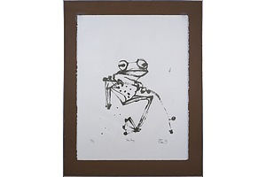 John Olsen (born 1928), Tree Frog, Lithograph