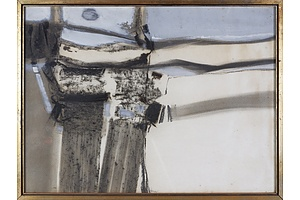 Thomas Gleghorn (born 1925), Untitled (Abstract) 1968, Mixed Media on Paper