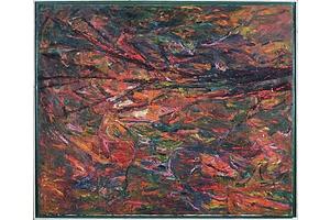 Reg Livermore (born 1938), Dusk, Late Autumn 1987, Oil on Canvas
