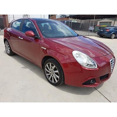 2/2011 Alfa Romeo Giulietta 1.4  5d Hatchback Red 1.4L
