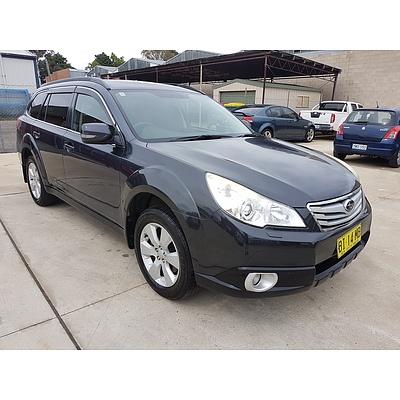1/2010 Subaru Outback 3.6R MY10 4d Wagon Grey 3.6L