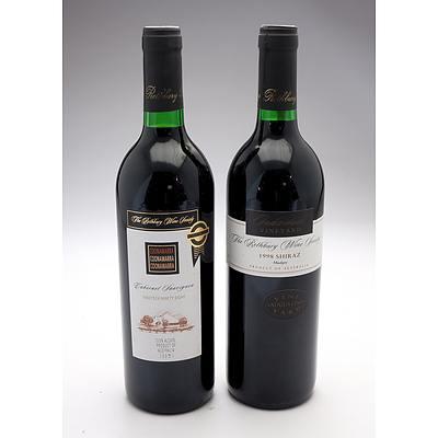 Rothbury Wine Society 1998 Coonawarra Cabernet Sauvignon and 1998 Mudgee Shiraz - Two Bottles (2)