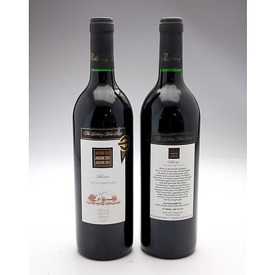 Rothbury Wine Society 1998 Langhorne Creek Shiraz - Lot ofTwo Bottles (2)
