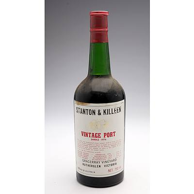 Stanton & Killeen Gracceray Vineyard Rutherglen 1976 Vintage Port Shiraz - 750ml