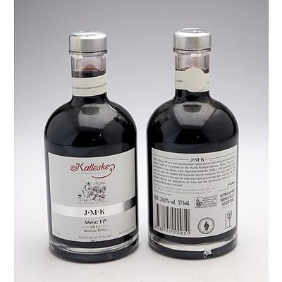 Kalleske J.M.K Fortified Shiraz VP 375mL - Lot of Two Bottles (2)