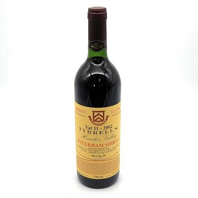 Tyrells Winemakers Selection Vat 11 2002 Baulkham Shiraz