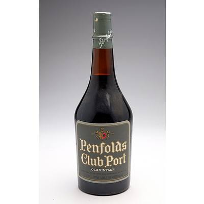 Penfolds Club Port Old Vintage- 750ml
