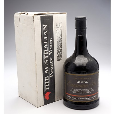 'The Australian' 20 Year Commemorative Port - 750ml in Original Box