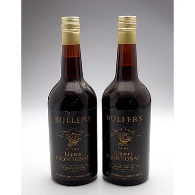 Bullers Calliope Liqueur Frontignac 738ml - Lot of Two Bottles (2)