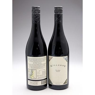 Killerby 2004 Shiraz - Lot of Two Bottles (2)