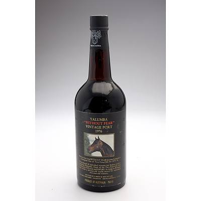 Yalumba Racing Series Vintage Port 'Without Fear' 1976 - 750ml