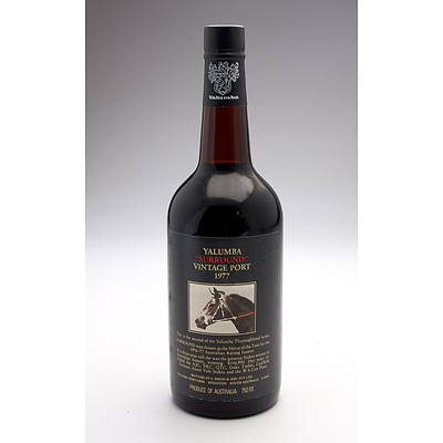 Yalumba Racing Series Vintage Port 'Surround' 1977 - 750ml