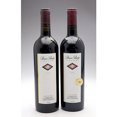 Briar Ridge Cold Soaked Cabernet Sauvignon 2002 & 2004 - Two Bottles (2)