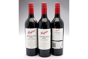 Penfolds Koonunga Hill 2011Shiraz - Cabernet Sauvignon - Lot of Three Bottles (3)