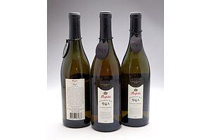 Penfolds Reserve Bin 94A 1994 Chardonnay - Lot of Three Bottles (3)