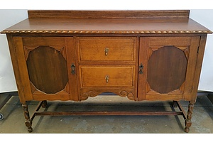 1940's Maple Sideboard