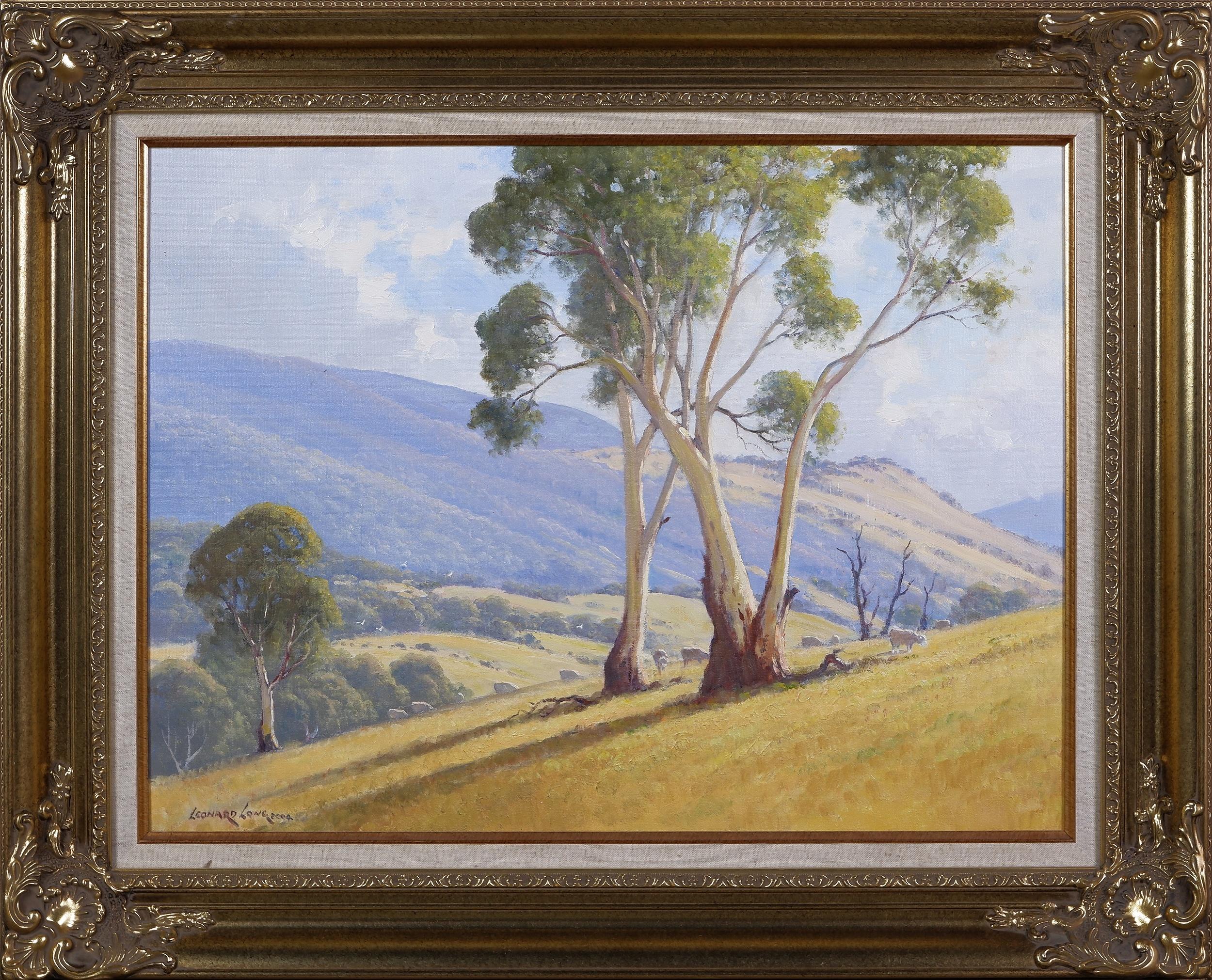 'Leonard Long (1911-1913), Valley of the Goodradigbee, Wee Jasper, Oil on Canvas on Board'