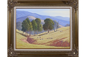 Leonard Long (1911-1913), In the Hills At Cookmundoon, Wee Jasper, New South Wales 2004, Oil On Canvas on Board