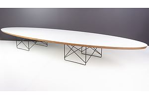 Genuine Charles Eames Elliptical Coffee Table Manufactured by Vitra