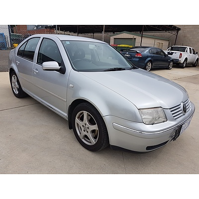 7/2001 Volkswagen Bora 2.0 1J 4d Sedan Silver 2.0L