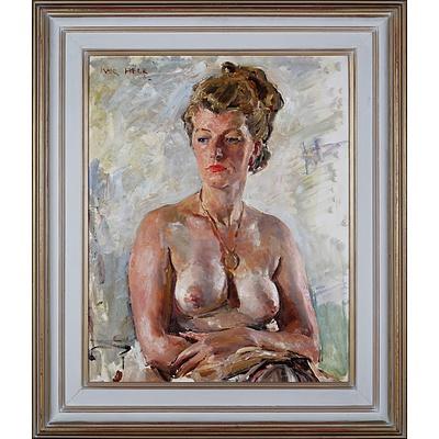Ivor Hele (1912-1993), The Locket 1962, Oil on Board