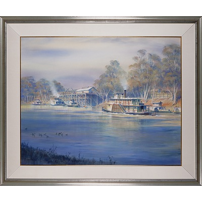 Kenneth Jack (1924-2006), Echuca, Victoria, Watercolour on Paper