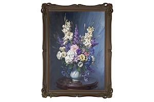 Ernest Buckmaster (1897-1968), Flowerpiece, Oil on Canvas