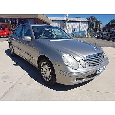 1/2003 Mercedes-Benz E320 Elegance 211 4d Sedan Silver 3.2L