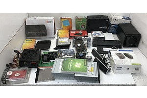 Assorted Computer and Electronics Parts and Accessories