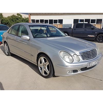 3/2003 Mercedes-Benz E240 Elegance 211 4d Sedan Silver 2.6L