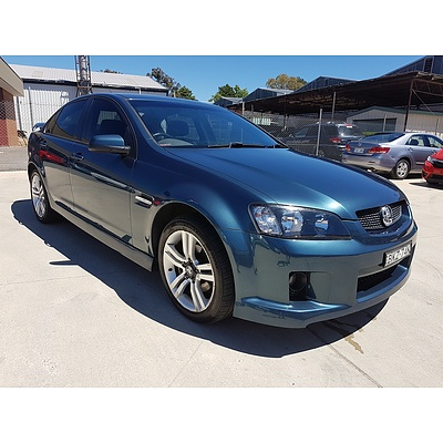 5/2008 Holden Commodore SV6 VE MY08 4d Sedan Blue 3.6L