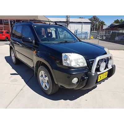 3/2002 Nissan X-trail Ti (4x4) T30 4d Wagon Black 2.5L