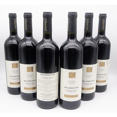 Glaetzer Barossa Valley 2001 Goldbeater Shiraz - Case of Six Bottles